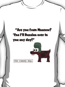 Russian over to you [Black writing] T-Shirt