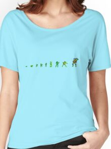 upright turtle Women's Relaxed Fit T-Shirt