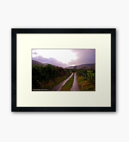 New Years Day Walk in the Glens of Antrim Framed Print