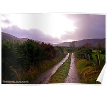 New Years Day Walk in the Glens of Antrim Poster