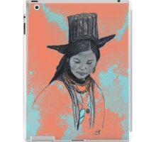 Ladakhi woman iPad Case/Skin