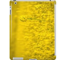 Mellow yellow iPad Case/Skin