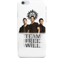 Supernatural: Team Free Will iPhone Case/Skin