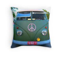 Hippy Pillow Case Throw Pillow