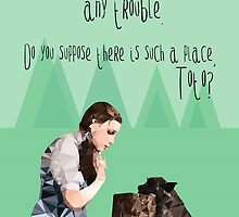 Dorothy and Toto's Place by Happy Thoughts