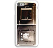 Old Flip Phone iPhone Case/Skin