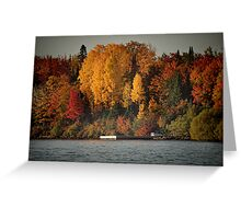 Autumn Arrives to Buffalo Bay Greeting Card
