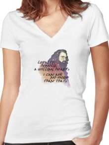 Loyalty Women's Fitted V-Neck T-Shirt