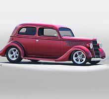 1935 Ford Tudor Sedan by DaveKoontz