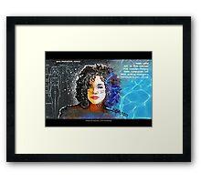 Commander Lethe Framed Print