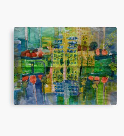 city#9 version 2 Canvas Print