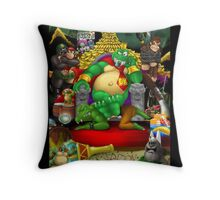 Bring Back K. Rool! Throw Pillow