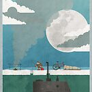 Eskimo Catches Submarine by Andy Scullion