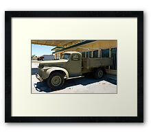 OLD BEAUTY 11 Framed Print