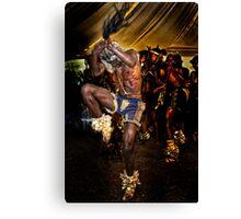 The Warrior Dance Canvas Print