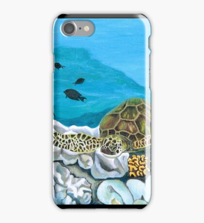 """""""Into the Depths."""" iPhone Case/Skin"""