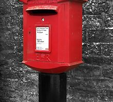 Kilburn Postbox by Rachel Down