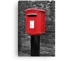 Kilburn Postbox Canvas Print