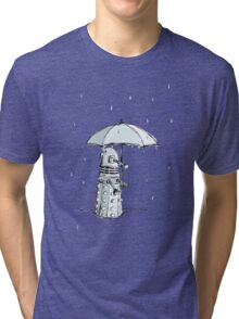 Dalek in the Rain Tri-blend T-Shirt