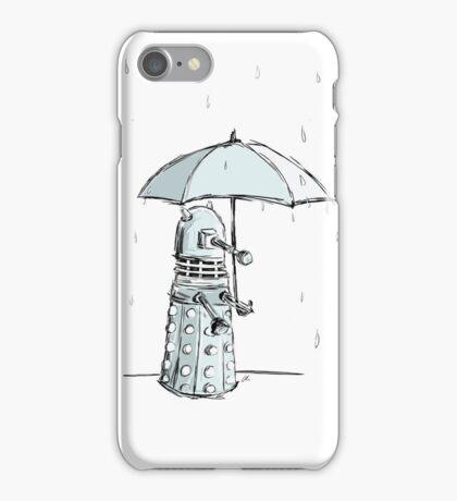 Dalek in the Rain iPhone Case/Skin