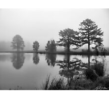 Foggy Pond Photographic Print