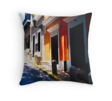 Calle De Sol Throw Pillow