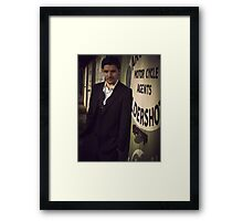 Colin Morgan Framed Print