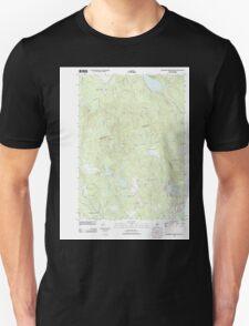 USGS TOPO Map New Hampshire NH Hillsboro Upper Village 20120608 TM T-Shirt