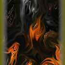 iPhone case... called...Old flame... by linmarie