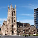 'St. Francis Xcaviour Cathedral,' Victoria Square, Adelaide City.S.A. by Rita Blom