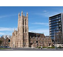 'St. Francis Xcaviour Cathedral,' Victoria Square, Adelaide City.S.A. Photographic Print