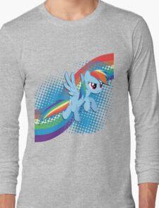 Rainbow DASH! Long Sleeve T-Shirt