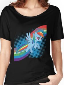 Rainbow DASH! Women's Relaxed Fit T-Shirt