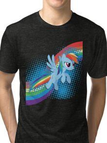 Rainbow DASH! Tri-blend T-Shirt