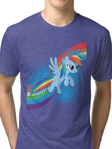 Rainbow DASH! Tri-blend T-Shirt