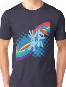 Rainbow DASH! Unisex T-Shirt