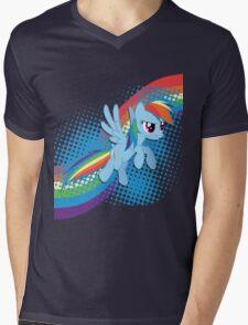 Rainbow DASH! Mens V-Neck T-Shirt