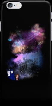 A Boy and His Box - iPad/iPhone Case by jlechuga