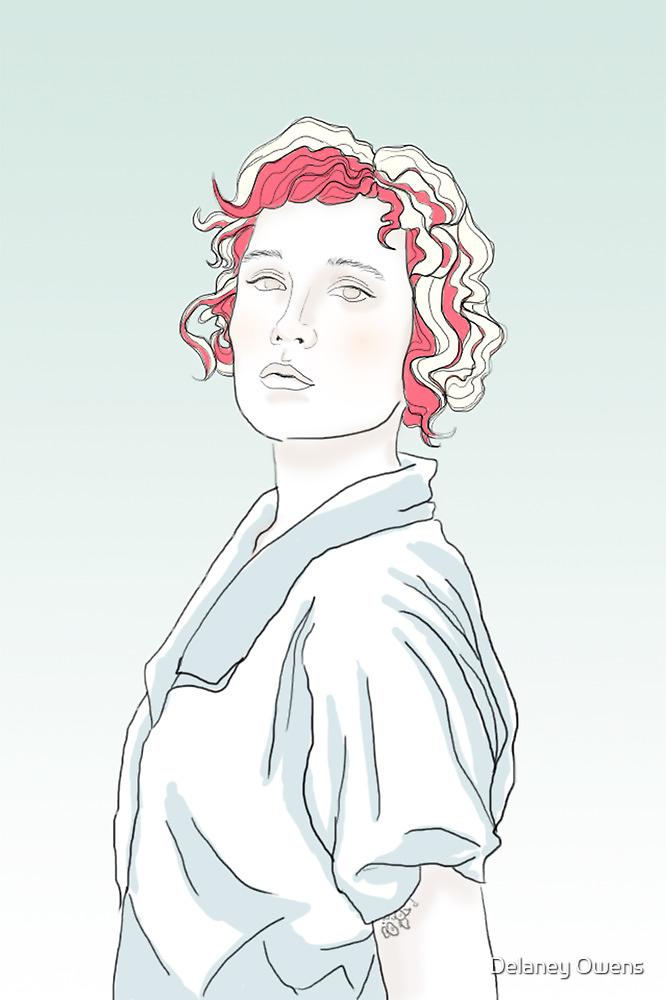 Aleisha Sketch by Delaney Owens