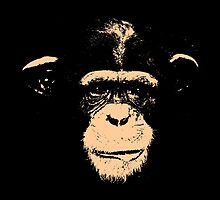 CHIMPANZEE-2A by OTIS PORRITT