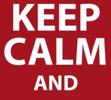 Keep calm and eat a cake pop Sticker