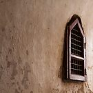 Bagan temple window by Hege Nolan