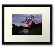 Gothic Dawn Framed Print