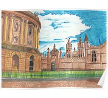 Radcliffe Camera Oxford Poster