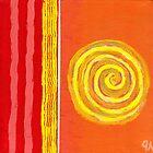 Sun spinning to collision by Jeremy Aiyadurai