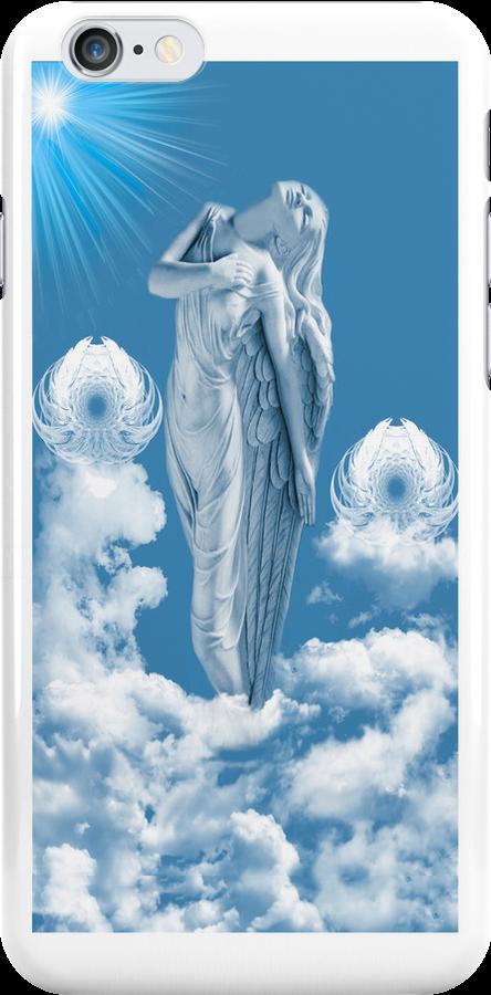 ๑۩۞۩๑ ANGEL STEPS WALKING IN CLOUDS IPHONE CASE ๑۩۞۩๑ by ✿✿ Bonita ✿✿ ђєℓℓσ
