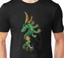 Jade Serpent (offset) Unisex T-Shirt