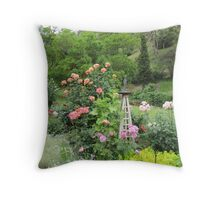 Country Garden, Cudlee Creek, Adelaide Hills. S.A. Throw Pillow