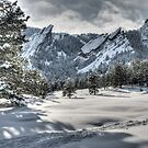 Flatirons Journey - First Tracks by Greg Summers