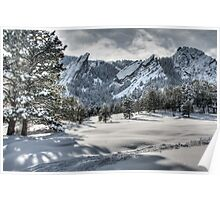 Flatirons Journey - First Tracks Poster